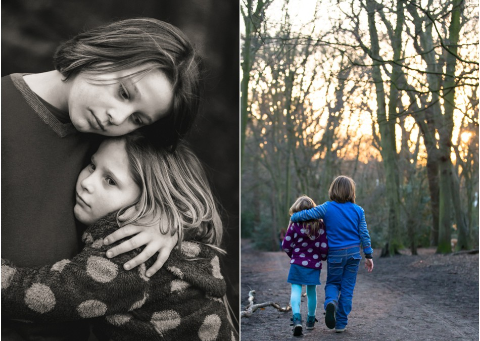 London family photography in Highgate Woods  N10